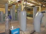 Прямошовные воздуховоды из черновой стали