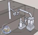 Проектирование системы аспирации пищевого продукта - Энергомеханика-М